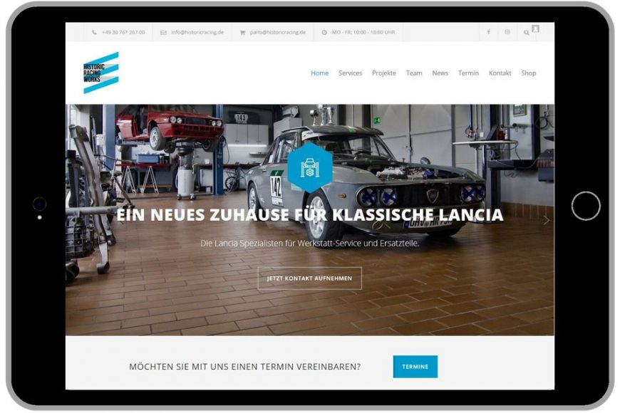 NEU: WEBSITE